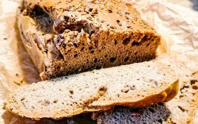 Безглутенов хляб със сусамов тахан